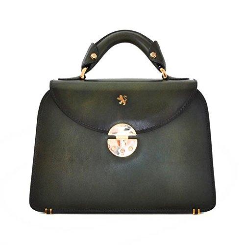 Pratesi Veneziano piccolo borsa da donna - S285/P Santa Croce (Verde Scuro)