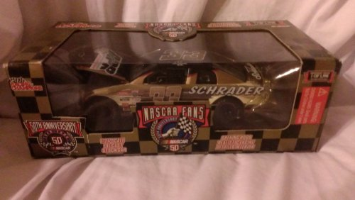 Racing Champions Numbered 50th Anniversary Nascar Gold 1/24 Brett Bodine - 1