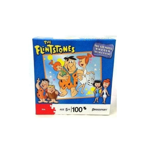 Pressman Kids The Flinstones 100 piece Puzzle