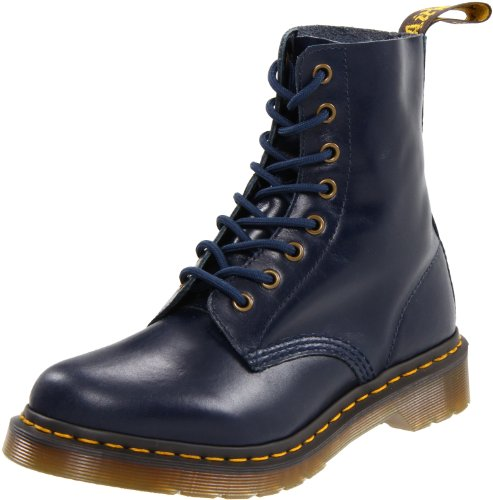 bottes et boots dr martens pascal buttero boots femme bleu dress blues 37 eu 4 uk. Black Bedroom Furniture Sets. Home Design Ideas