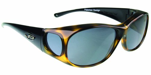 Fitovers Eyewear Element Sunglasses (Leopard/Black, PDX Grey)