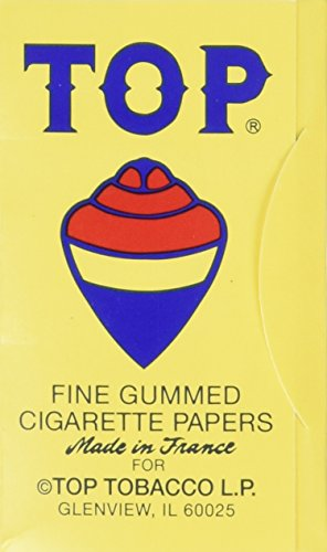 Tops Rolling Paper - Regular - Box of 24 (Top Cigarette compare prices)