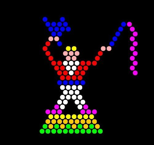 Lite Brite Refill: Circus (15 SQUARE SHEETS) - NOT for New Magic Screen