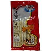 Super Dog Chew White Twist Sticks 100 Gm (pack Of 2)