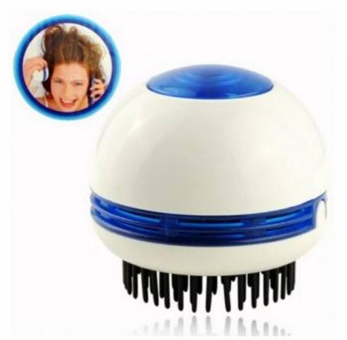 Head Electric Scalp Vibrating Massager Comb Stress Pain Relief Relax Massage Brush by Abcstore99