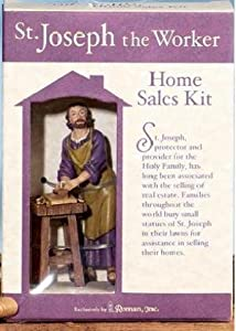 St Joseph Statue Worker Home Seller Sales Kit