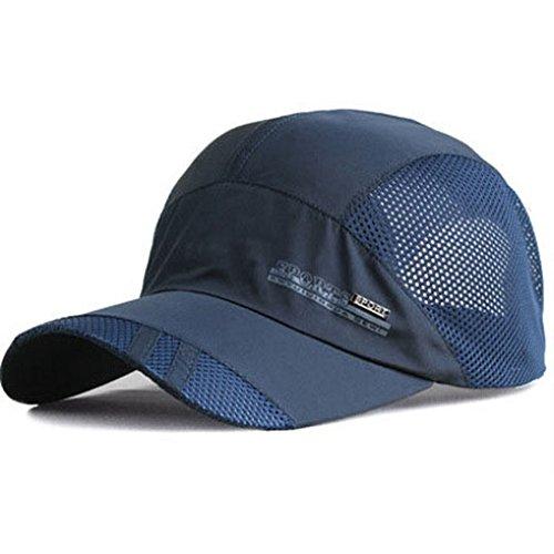YING LAN Men s Summer Outdoor Sport Baseball Hat Running Visor - Import It  All 6f7d41375db