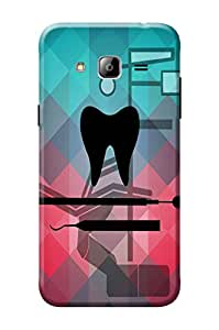 Samsung Galaxy J3 Cover, Premium Quality Designer Printed 3D Lightweight Slim Matte Finish Hard Case Back Cover for Samsung Galaxy J3 + Free Mobile Viewing Stand
