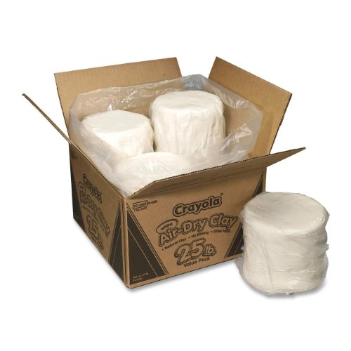 Crayola Air Dry Clay 25 lb Value Pack White (Alternative Clay Firing compare prices)