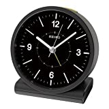 SEIKO CLOCK(セイコークロック) アナログ目覚まし時計 電波時計(黒) KR328K KR328K