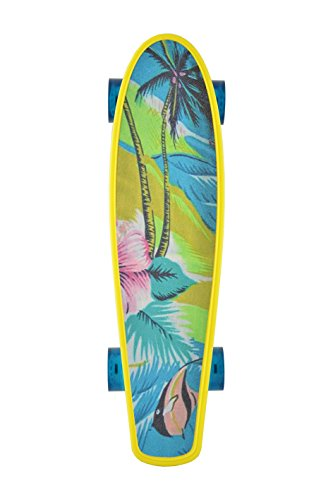 Kryptonic Kryptonic Torpedo Print Design Floreal Skateboard Retro Grafica, Multicolore, 22'5""