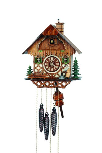 Schneider Black Forest 11 Inch Musical Blacksmith Cuckoo Clock