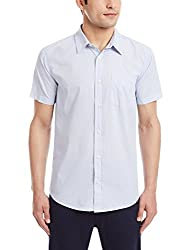 Fox Men's Casual Shirt (135434080040_135434_Large_Sky Blue)