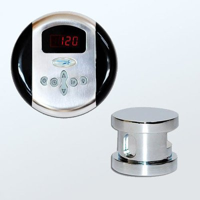 New Steam Spa OAPKCH Oasis Accessory Bundle for Steam Generator, Chrome