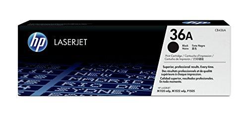 HP 36A Schwarz Original LaserJet Tonerkartusche