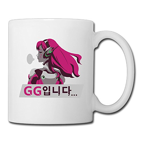 Overwatch D.Va GG Coffee Mug