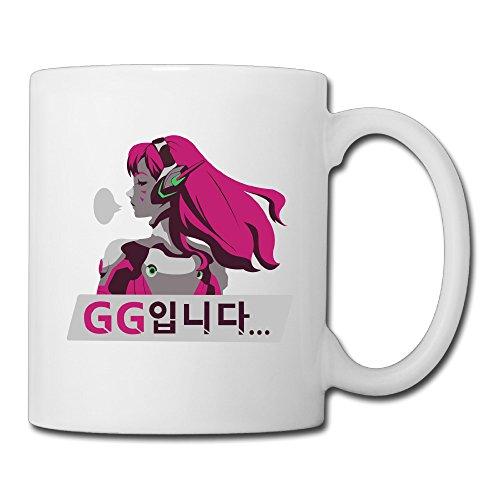 Overwatch D.Va GG Coffee Mug