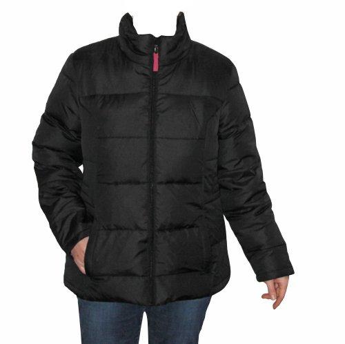 Daunenjacke für Damen Wintermantel Jacke Taptex schwarz verschiedene Größen günstig online kaufen