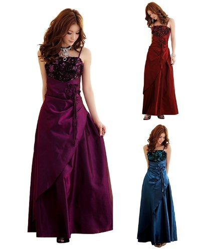 Satin Abendkleid 3106