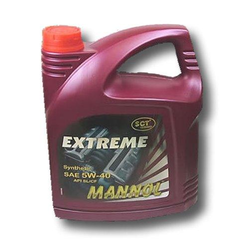 Motoröl SCT Mannol Extreme 5W-40 4 Liter