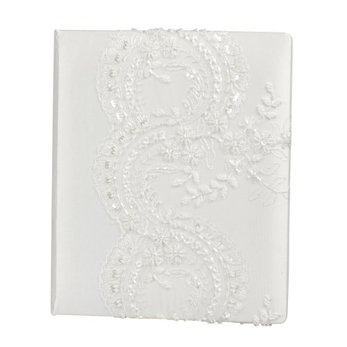 Beverly Clark Wedding Victorian Collection Memory Book, White