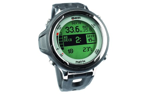 Mares Matrix Scuba Diving Computer - Black