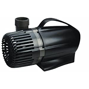 Sunterra direct drive pond pump 1250 gph for Pond pumps direct