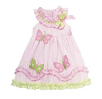 Amazon Rare Editions Baby Girls Butterfly Gingham