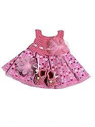 MiC Crafts Baby Girl 3 Piece Heart Dress Set Newborn Pink Multicolored
