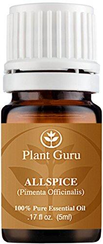 Allspice Essential Oil. (Pimento Leaf) 5 ml. 100% Pure, Undiluted, Therapeutic Grade.
