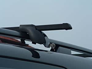 Motionperformance EssentialsTM Solid Universal Roof Rack Bars for Cars & Vans with Roof Rails - Quality Branded
