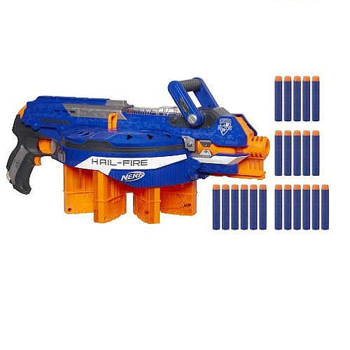 Nerf Hail-fire (Hail Fire Nerf Gun compare prices)