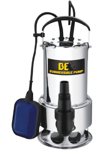 "Be Pressure St-900Sd Side Discharge Trash Submersible Pump 1.5"", 1 1/4 Hp, 115V, 1100W front-394999"