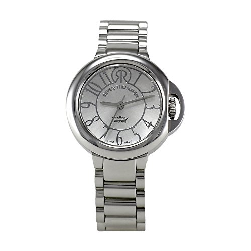REVUE-THOMMEN-Womens-1090101-Cosmo-Lifestyle-Analog-Display-Swiss-Automatic-Silver-Watch
