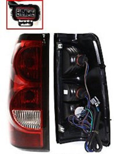 Discount Starter and Alternator GM2800174 Chevrolet Silverado Driver Side Replacement Taillight Plastic Lens With Bulbs (Alternator Chevrolet Silverado compare prices)