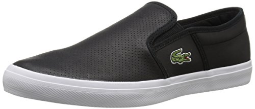 Lacoste Men's Gazon Sport 116 2 Fashion Sneaker, Black, 11 M US