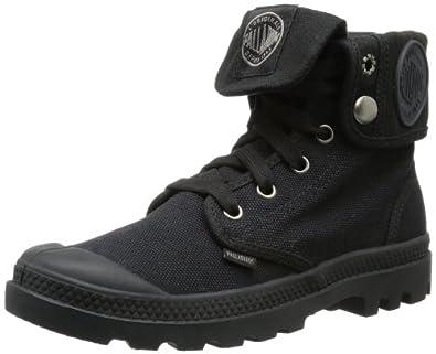 Palladium Women's Baggy Canvas Boot,5 B(M) US,Black