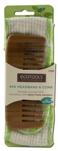 Eco Tools Spa Headband & Comb Bath Accessories