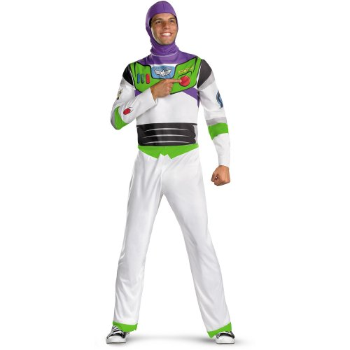 Disguise Men's Disney Toy Story - Buzz Lightyear Adult Costume