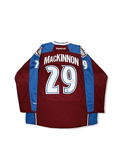 Steiner Sports Memorabilia Nathan Mackinnon Signed Avalanche Maroon Premier Jersey