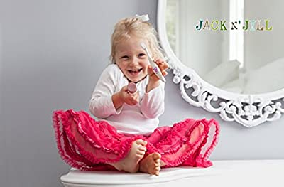 Maven Gifts: Jack N' Jill Bio Toothbrush - Dino with Rinse Cup - Hippo and Natural Toothpaste, Raspberry, 1.76oz (Pack of 2)