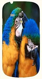 Striking multicolor printed protective REBEL mobile back cover for S3 Mini / Samsung I8190 Galaxy S III mini D.No.N-T-3785-S3M