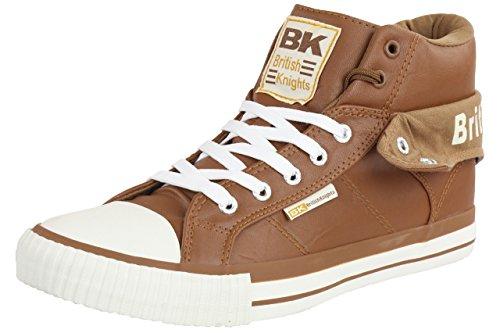 British Knights ROCO BK Herren Sneaker B34-3736-17 braun , Schuhgröße:EUR 39