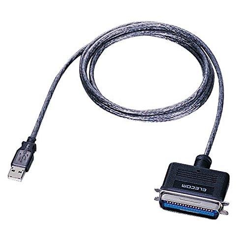 ELECOM USB to パラレルプリンタケーブル 1.8m グラファイトUC-PGT
