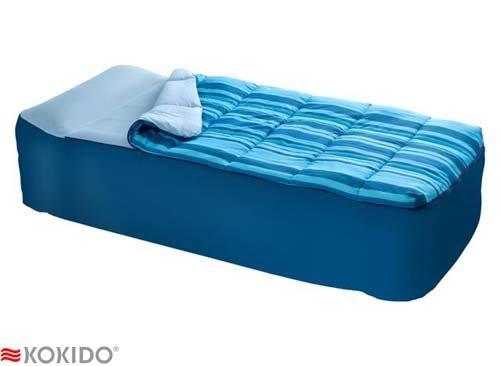Kokido combi couette pour lit d 39 appoint gonflable 1 - Housse pour lit d appoint ...