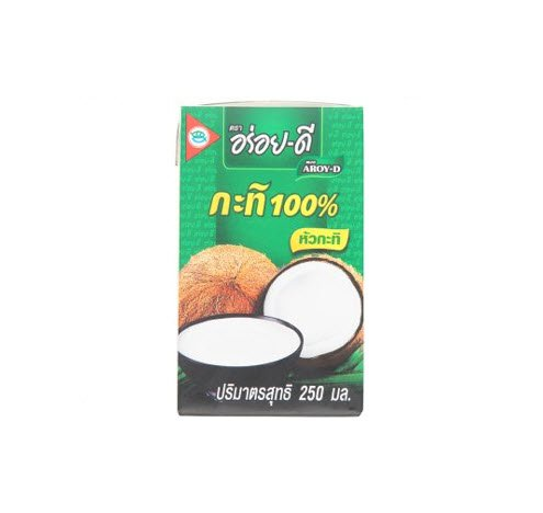 250ml Aroy-d Original Coconut Milk 100% (Arroy D compare prices)