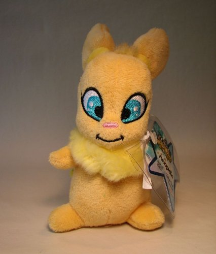 Neopets small plush - Series 5 Yellow Usul (squirrel)