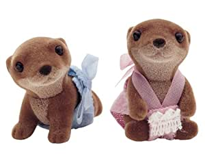 Sylvanian Families Otter Twin Babies