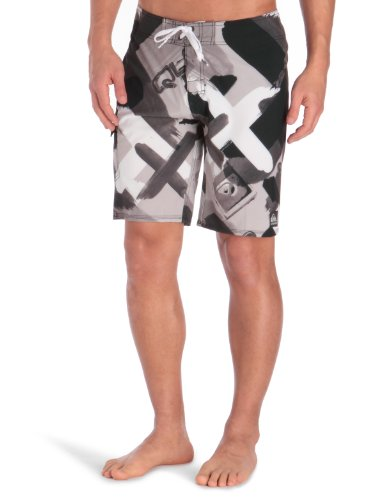 Quiksilver X-Fire 20BS Men's Swim Shorts Black Small