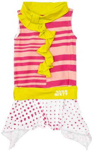 Miss Sixty M JF TA40 012C 0490 Girl's Dress Fuchsia